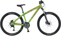 Велосипед SCOTT Voltage YZ 10 (зеленый)